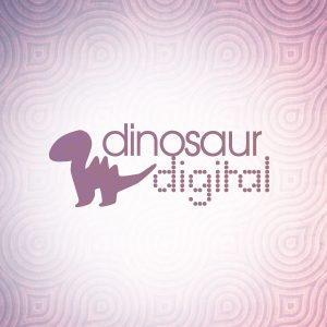 Dinosaur Digital Logo Design