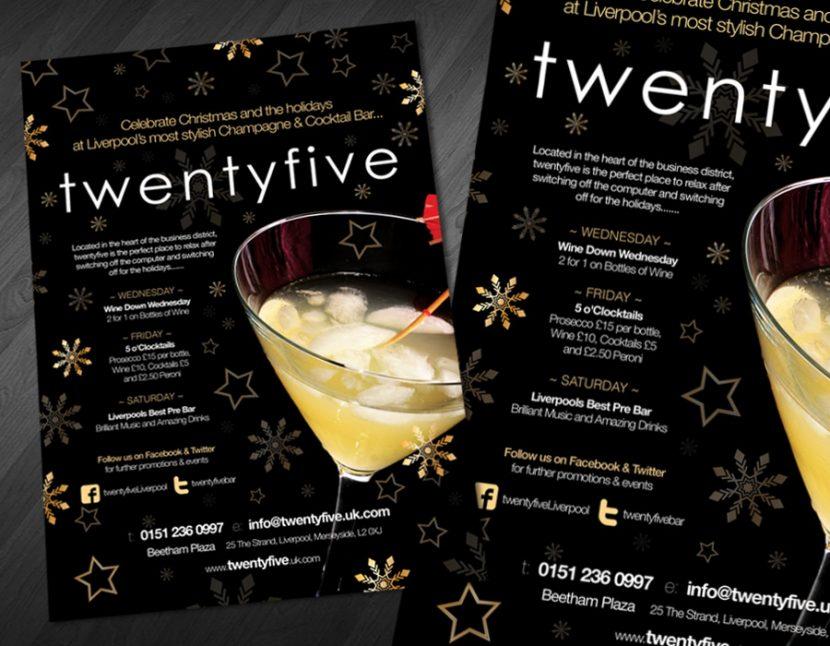 Advertisement TwentFive Liverpool