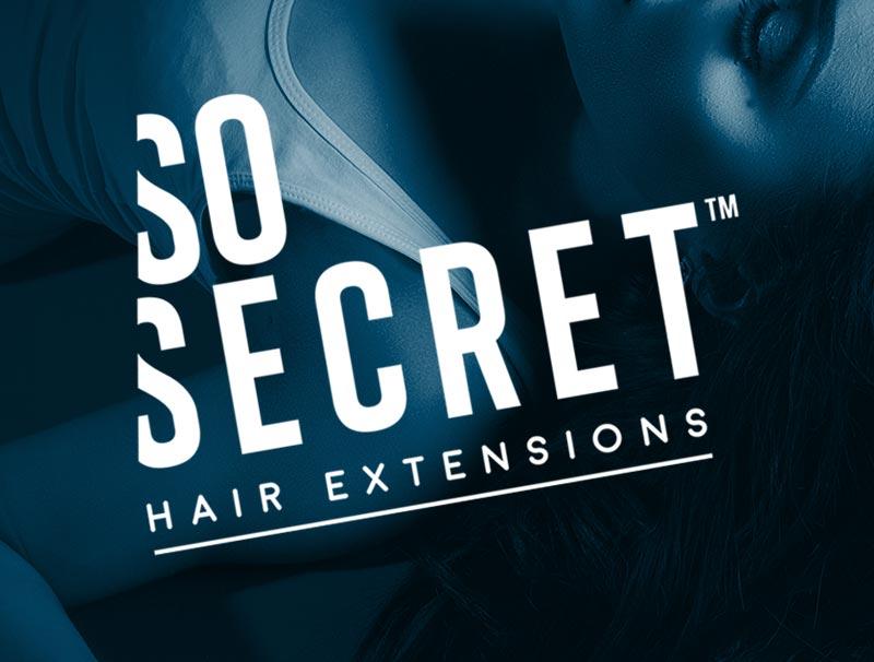 branding & logo design hair extensions salons