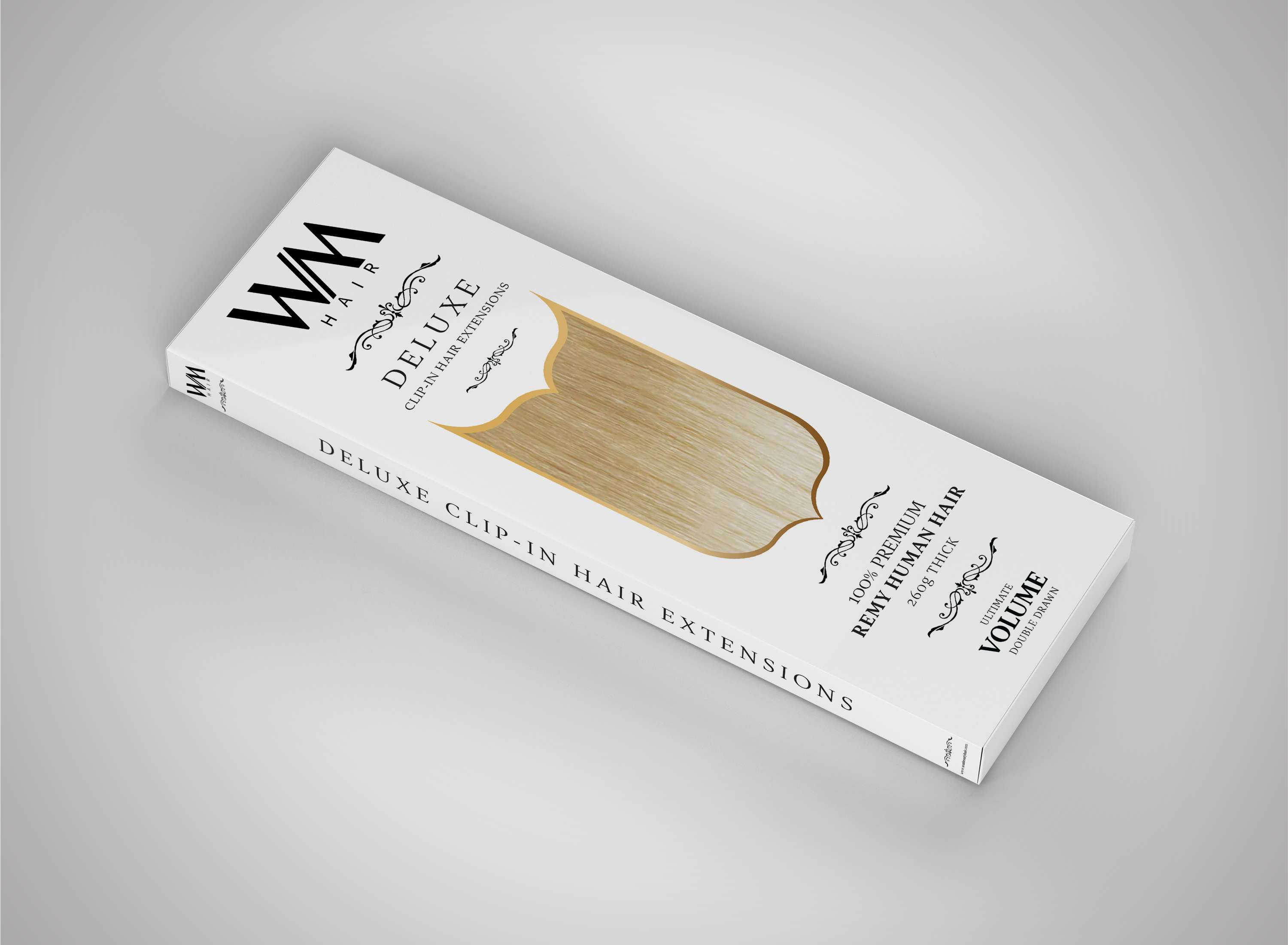 deluxe-clip-in-hair-extensions-packaging-design-remy-angled