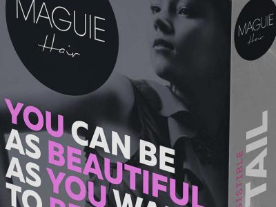 maguie-hair-extensions-ponytail-packaging-design-featured