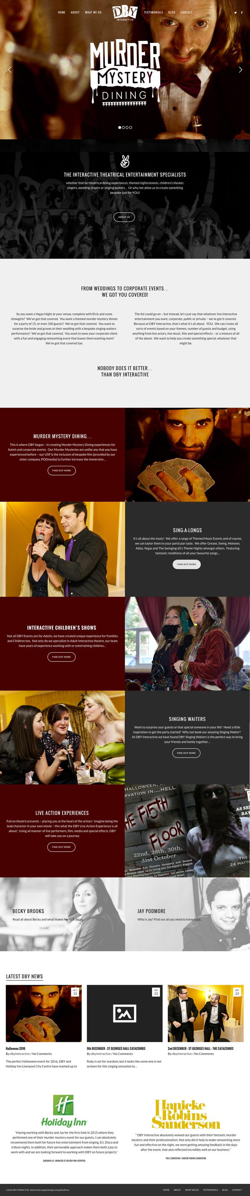 Web Design Liverpool DBY Interactive