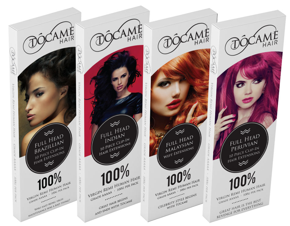 tocame-hair-extensions-packaging-design-group