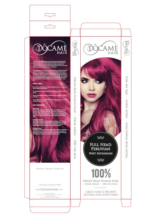 tocame-hair-extensions-packaging-design-print-file
