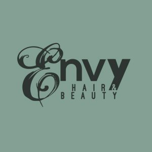 envy hair & beauty logo