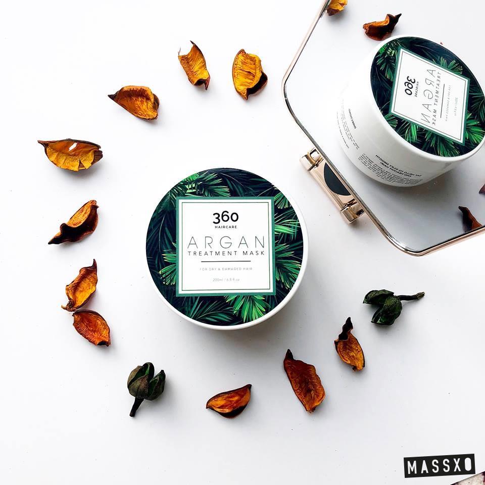 argan oil face mask packaging design freelance